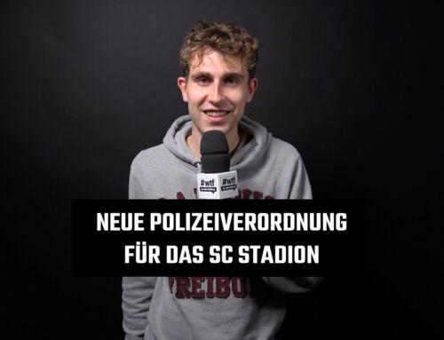 Neue Polizeiverordnung für das SC Stadion