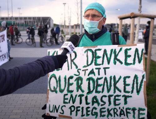 Querdenker*innen ausbremsen – Die Querbremsen Demo in Freiburg